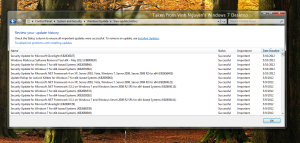Windows 7 Security Update For May 9th 2012