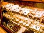 Heavily Lightroom 4 Retouched ATL Underground Confection Store Basked In Reddish Golden Light Chocolate Display