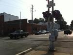 iPhone 4 Original Image Of Train Stop Light