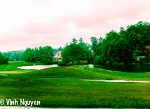 Lightroom 4 Retouched Photo Of A Dazzling Golf Course Pond