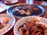 Original iPhone 4 Image Of Korean Buffet Grilled Foods