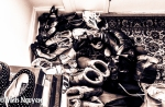 Lightroom 4 Retouched iPhone 5 Image Of Lot Of Shoes