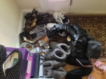 Original iPhone 5 Image Of Lot Of Shoes