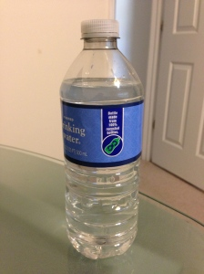 iPhone 5 Camera Water Bottle Image Without Any Retouch Effect